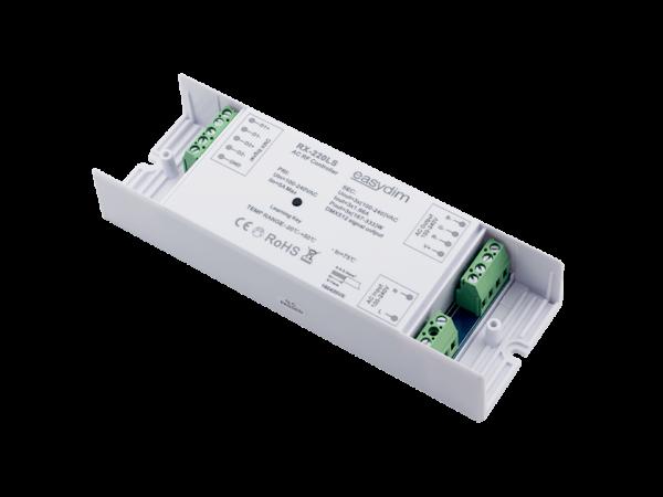 Приемник-контроллер RX-220LS для подключения высоковольтной светодиодной ленты (Ленты 220В). До 1000вт.