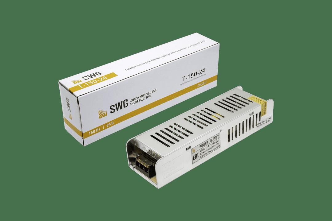Блок питания компактный (узкий), 150 W, 24V