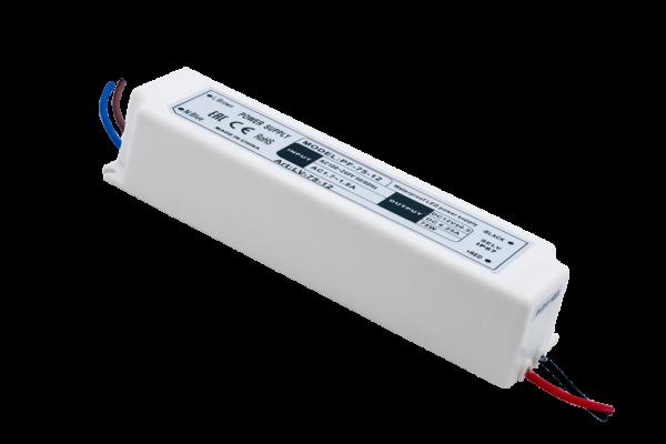 Блок Питания для ленты IP 67 пластик 75 W, 12V