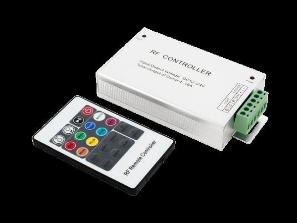 LED RGB контроллер 18А 12-24 Вольт,РФ, 20 кн