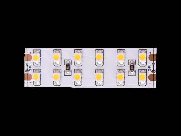 Лента светодиодная стандарт 3528, 240 LED/м, 19,2 Вт/м, 24В, IP20, Цвет: Холодный белый