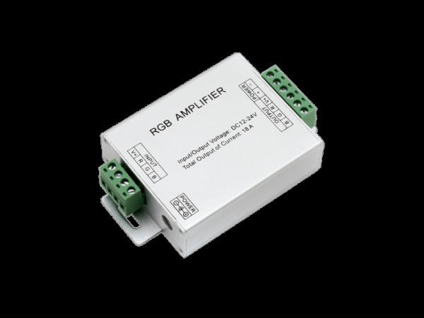 Усилитель RGB 18А, 12/24 Вольт, AMP-RGB-18A