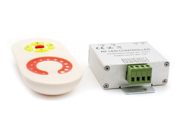 LED диммер белый сенсор 10 A, max:120W, 12/24V: 240W