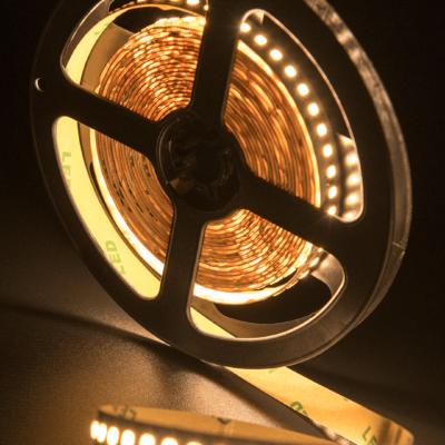 Лента светодиодная ПРО 2835, 168 LED/м, 17,3 Вт/м, 24В , IP20, Цвет: Теплый белый