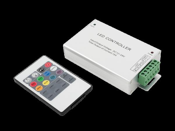 LED RGB контроллер 18 А 12-24 Вольт, ИФ 20 кн