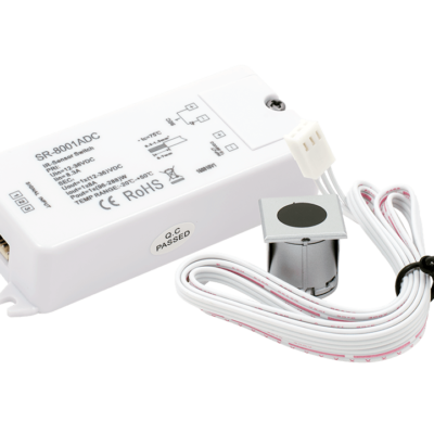 ИК-выключатель «взмаx руки» серебро 12-36В