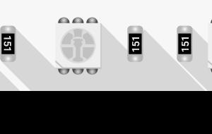 Лента светодиодная LUX, 5050, 60 LED/м, 14,4 Вт/м, 12В, IP33, RGB (K)