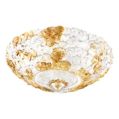 604073*** (7019/40) Люстра MURANO 6х40W E14 Amber (в комплекте)