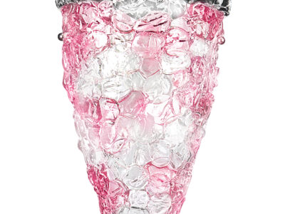 604622*** (7019/A/G) MURANO Бра 2х40W E14 Pink (в комплекте)
