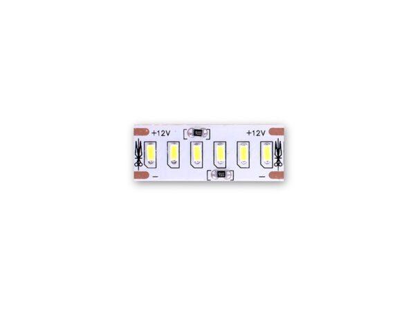 Лента светодиодная однорядная стандарт 3014, 240 LED/м, 24 Вт/м, 12В, IP20, Цвет: Холодный белый