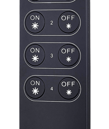 Кнопочный пульт R-K4 на 4 зоны