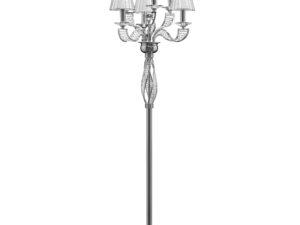 702764 (ML200002-6) Торшер ALVEARE 6х40W E14  ХРОМ (в комплекте)