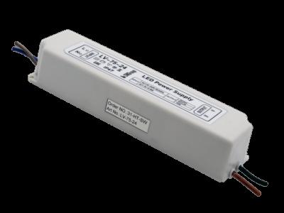 Блок Питания для ленты IP 67 пластик 75 W, 24V