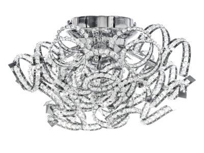742094*** (9360/9A) Люстра потол. SPIDER 9х40W G9 ХРОМ (в комплекте)