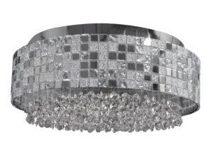 743064 (1024/6) Люстра потолочная  BEZAZZ 6х40W G9 ХРОМ (в комплекте)