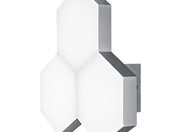 750632 (MВ13003032-3А) Бра FAVO LED-15W 720LM Silver 3000K (в комплекте)