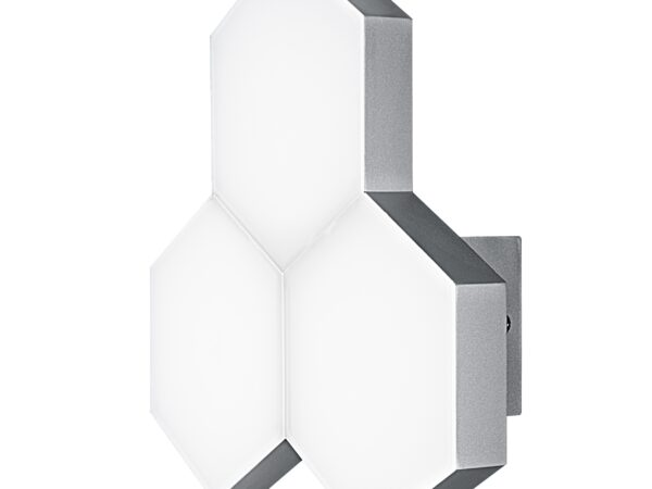 750634 (MВ13003032-3А) Бра FAVO LED-15W 720LM Silver 4000K (в комплекте)