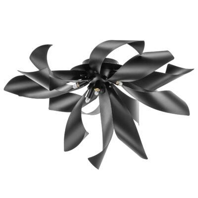 754167 (MX6910-6A ) Люстра TURBIO 6х40W G9 MATT BLACK (в комплекте)