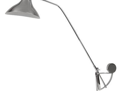764904***  (MТ14003041-1А)  Настольная лампа MANTI 1х40W  E14 Chrome (в комплекте)