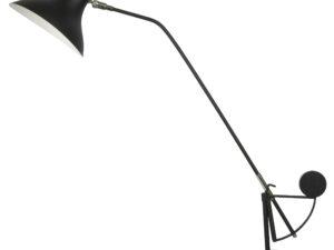 764907  (MТ14003041-1А)  Настольная лампа MANTI 1х40W  E14 Black (в комплекте)