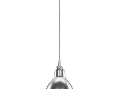 765014 (MD12018002-1A) Люстра LOFT 1х40W E14 ХРОМ  (в комплекте)