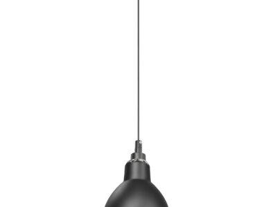 765017 (MD12018002-1A) Люстра LOFT 1х40W E14 ЧЕРНЫЙ  (в комплекте)