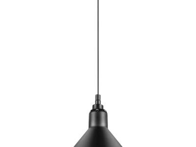 765027 (MD12018002-1F) Люстра LOFT 1х40W E14 ЧЕРНЫЙ  (в комплекте)