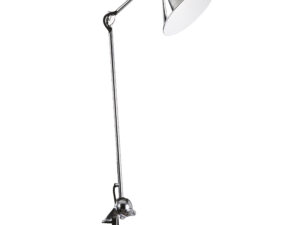 765924 (MТ1201802-1Е) Настольная лампа  LOFT 1х40W E14 ХРОМ (в комплекте)