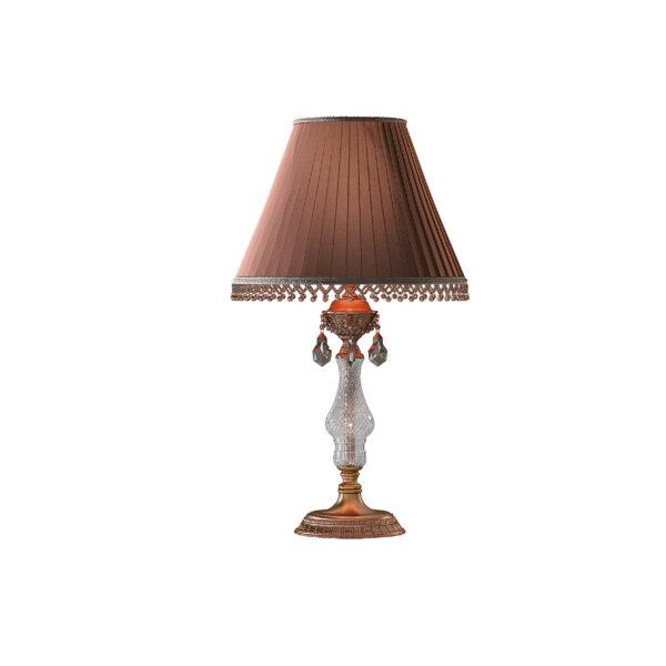 786912*** (MT500007-1) Настольная лампа AMPOLLO 1х40W E27 Coffee gold (в комплекте)