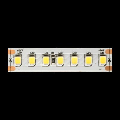 Лента светодиодная ПРО 2835, 168 LED/м, 17,3 Вт/м, 24В , IP20, Цвет: Холодный белый