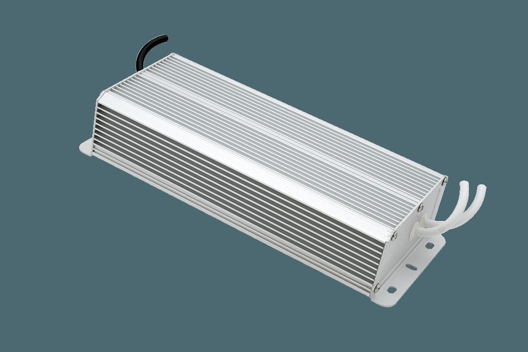 Блок питания для светодиодной ленты LUX влагозащищенный, 12В, 200Вт, IP67