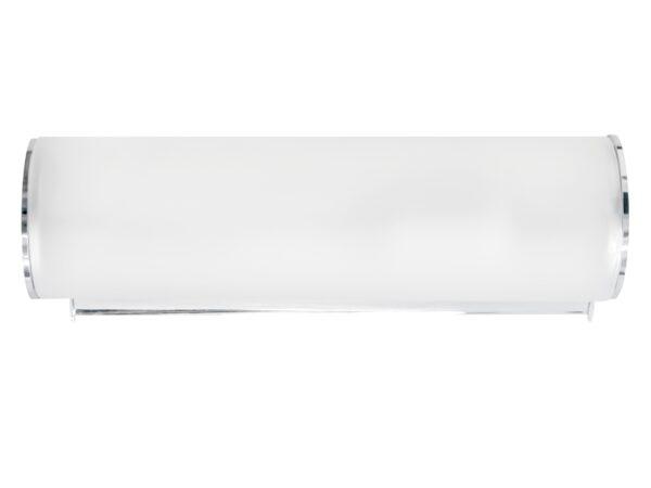 801810 (MB338-1) Светильник настенный BLANDA 1х40W E14 ХРОМ/БЕЛЫЙ (в комплекте)