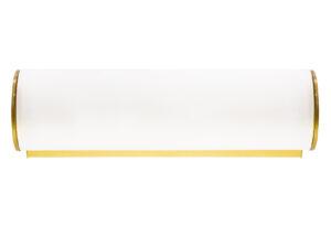801813 (MB338-1GL) Светильник настенный BLANDA 1х40W E14 ЗОЛОТО/БЕЛЫЙ (в комплекте)