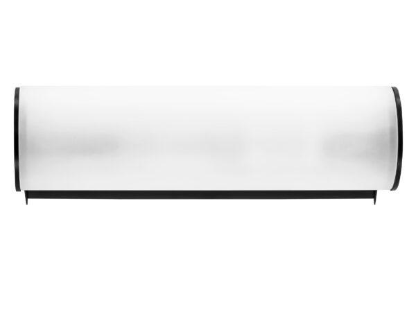 801817 (MB338-1BL) Светильник настенный BLANDA 1х40W E14 ЧЕРНЫЙ/БЕЛЫЙ (в комплекте)