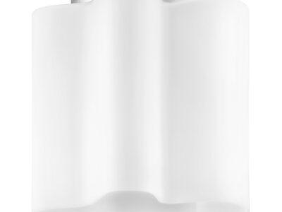 802010 (MC998-1) Светильник NUBI 1х40W E27 ХРОМ/БЕЛЫЙ (в комплекте)