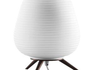 805911 (LT80204-B) Наст. лампа ARNIA 1х40W E27 КОРИЧНЕВЫЙ/БЕЛЫЙ (в комплекте)