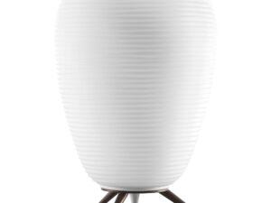 805912 (LT80204-A) Наст. лампа ARNIA 1х40W E27 КОРИЧНЕВЫЙ/БЕЛЫЙ (в комплекте)