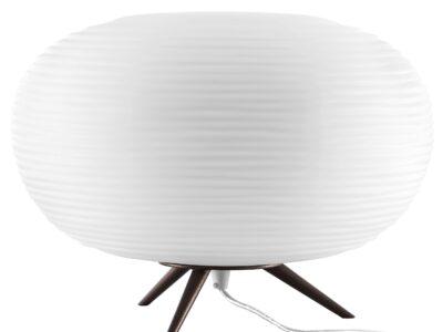 805913 (LT80204-C) Наст. лампа ARNIA 1х40W E27 КОРИЧНЕВЫЙ/БЕЛЫЙ (в комплекте)