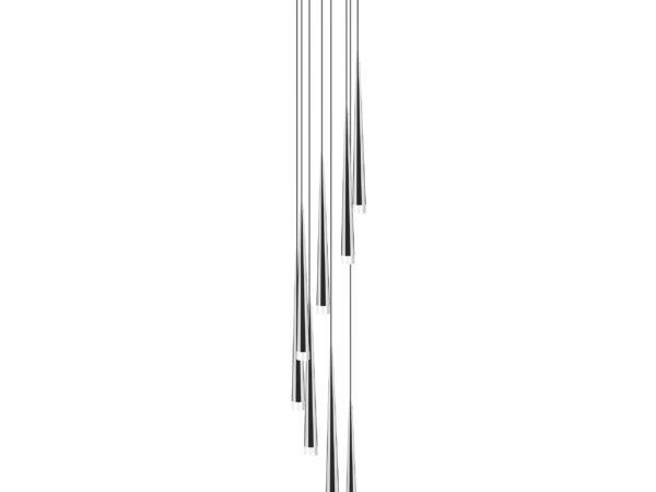 807084 (MD1220A-8W) Подвес PUNTO 8х25W G9 chrome (в комплекте)