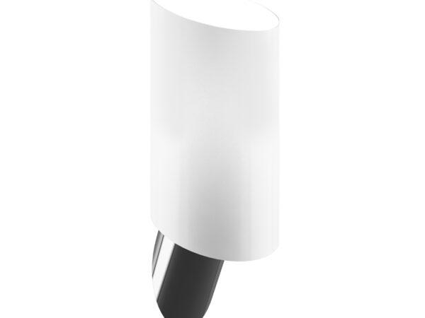 808610 (MB311-1W) Светильник настенный MURO 1х40W E14 БЕЛЫЙ/НИКЕЛЬ (в комплекте)