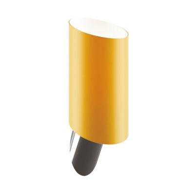 808613 (MB311-1SO) Светильник настенный MURO 1х40W E14 ЯНТАРЬ/НИКЕЛЬ (в комплекте)