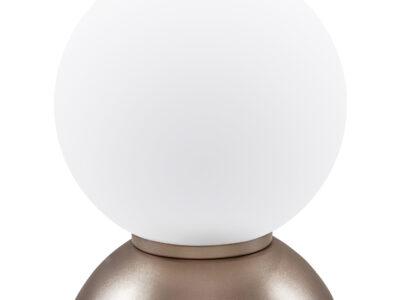 813913*** (MT5092-1GL)  Настольная лампа GLOBO 1х40W  E14 champaine/white (в комплекте)