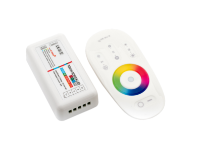 Контролер RGB+W2.4G сенсорный 4Ch*6A 12/24V Белый