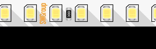 Лента светодиодная ПРО 2835, 128 LED/м, 11,5 Вт/м, 24В , IP20, Цвет: Холодный белый
