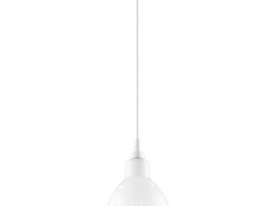 865016 (MD12018002-1A) Люстра LOFT 1х40W E14 БЕЛЫЙ  (в комплекте)