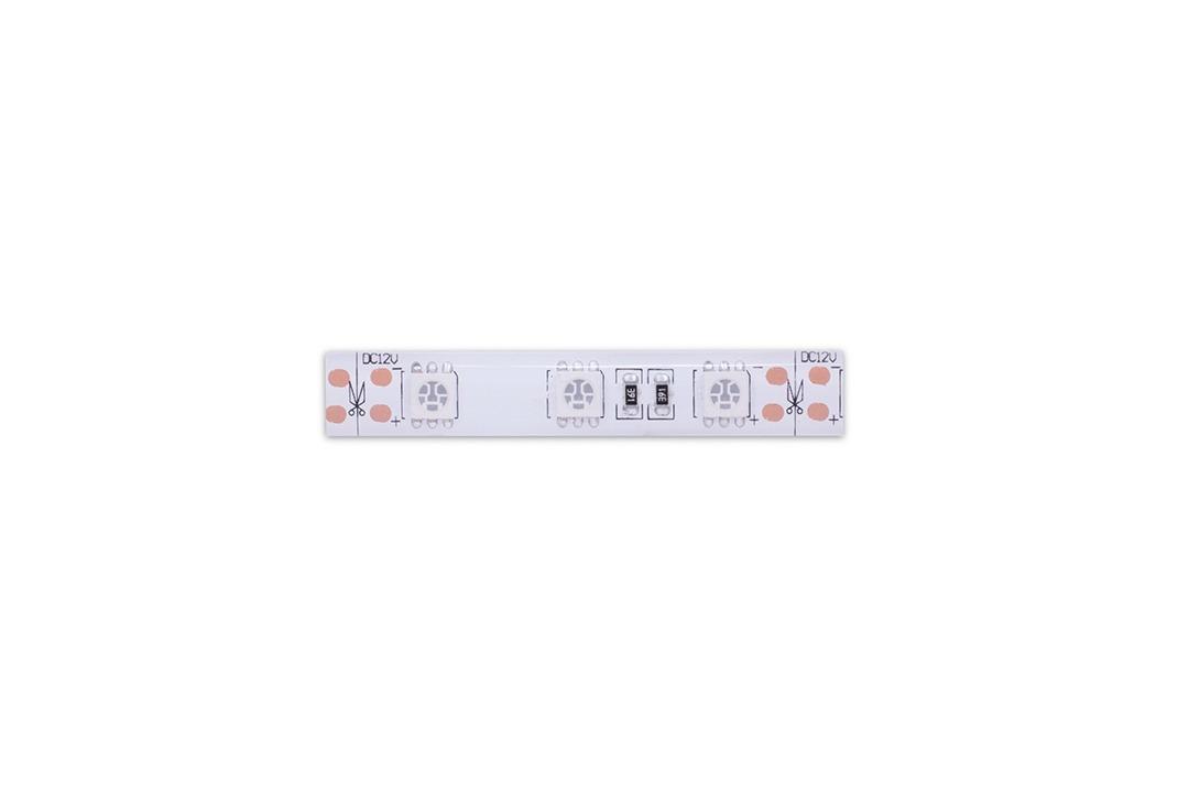 Лента светодиодная стандарт 5050, 60 LED/м, 14,4 Вт/м, 12В , IP65, Цвет: Зеленый
