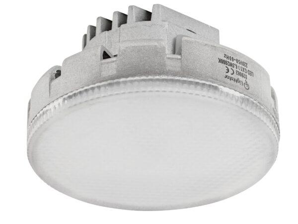 929082 Лампа LED 220V TABL GX53 8.5W=80W 680LM 180G FR 2800K 20000H (в комплекте)