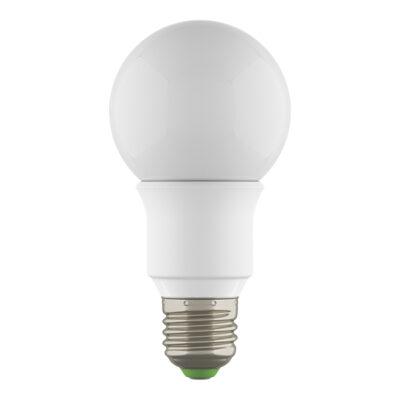 931002*** Лампа LED 220V A60 E27 6W=60W 500LM 360G WH 3000K 20000H DIMM (в комплекте)