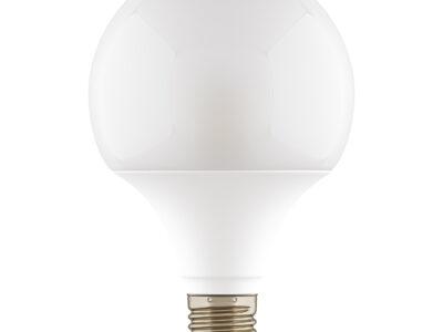 931304*** Лампа LED 220V G95 E27 12W=120W 1100LM 180G WH 4000K 20000H DIMM (в комплекте)