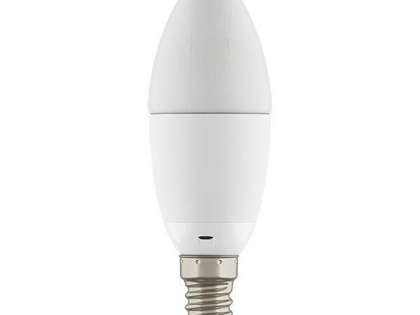 931502*** Лампа LED 220V C35 E14 6W=60W 360G WH 2800-3000K 20000H DIMM (в комплекте)